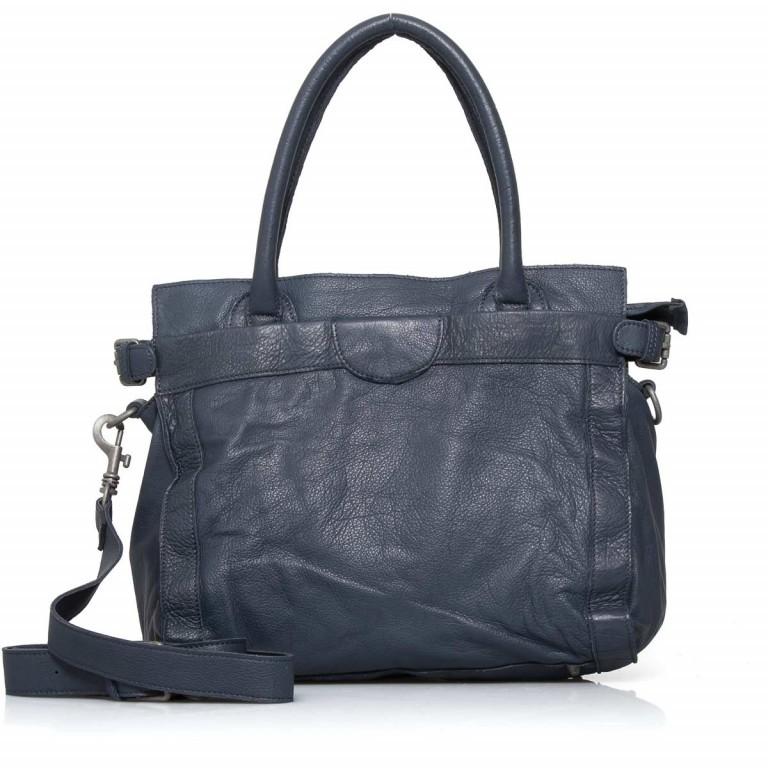 LIEBESKIND Vintage Glory Shopper Dark Blue, Farbe: blau/petrol, Marke: Liebeskind Berlin, EAN: 4051436833195, Abmessungen in cm: 33.0x30.0x16.0, Bild 4 von 4