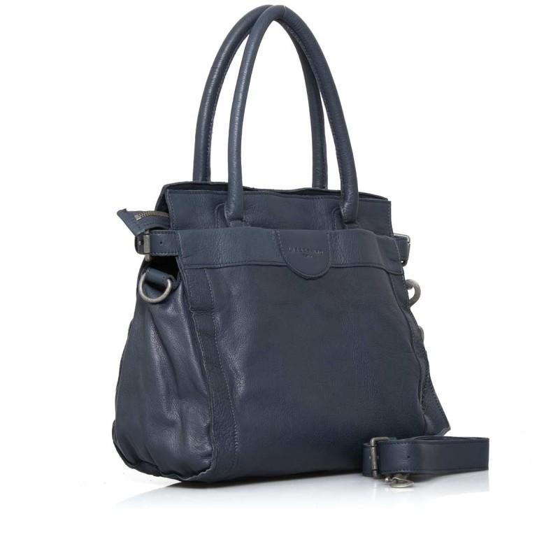 LIEBESKIND Vintage Glory Shopper Dark Blue, Farbe: blau/petrol, Marke: Liebeskind Berlin, EAN: 4051436833195, Abmessungen in cm: 33.0x30.0x16.0, Bild 2 von 4