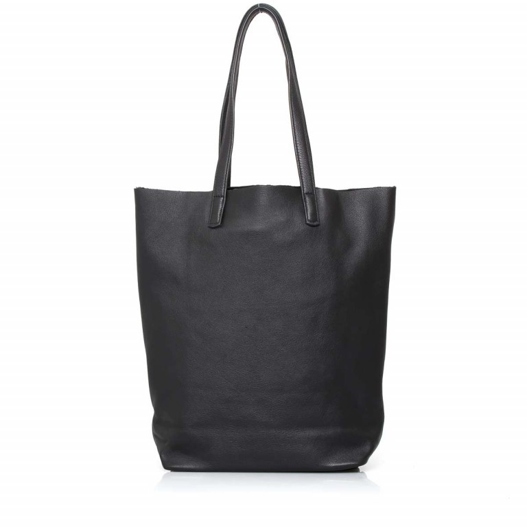LIEBESKIND Vintage Viki Shopper Black, Farbe: schwarz, Marke: Liebeskind Berlin, EAN: 4051436860177, Abmessungen in cm: 35.0x38.5x9.0, Bild 4 von 4