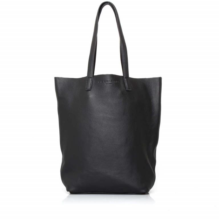 LIEBESKIND Vintage Viki Shopper Black, Farbe: schwarz, Marke: Liebeskind Berlin, EAN: 4051436860177, Abmessungen in cm: 35.0x38.5x9.0, Bild 1 von 4