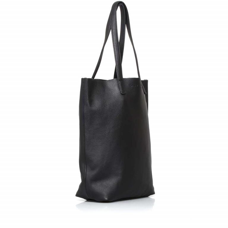 LIEBESKIND Vintage Viki Shopper Black, Farbe: schwarz, Marke: Liebeskind Berlin, EAN: 4051436860177, Abmessungen in cm: 35.0x38.5x9.0, Bild 2 von 4