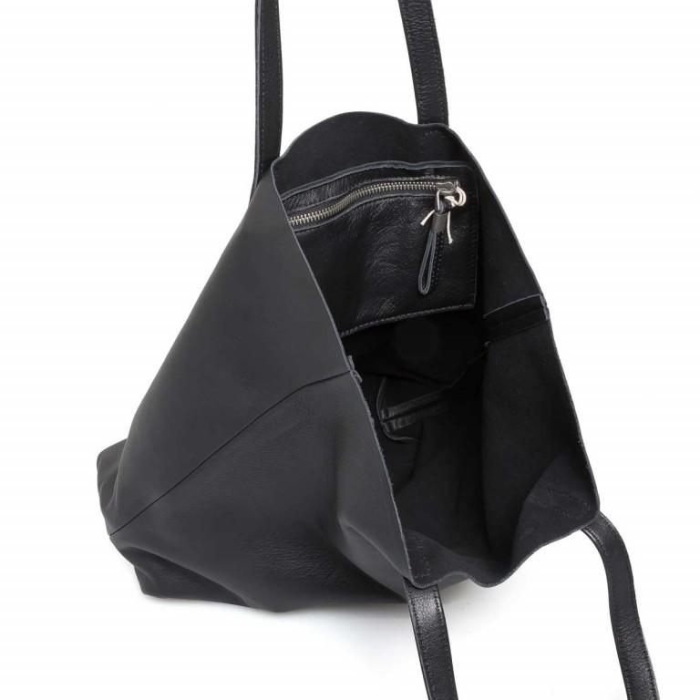 LIEBESKIND Vintage Viki Shopper Black, Farbe: schwarz, Manufacturer: Liebeskind Berlin, EAN: 4051436860177, Dimensions (cm): 35.0x38.5x9.0, Image 3 of 4