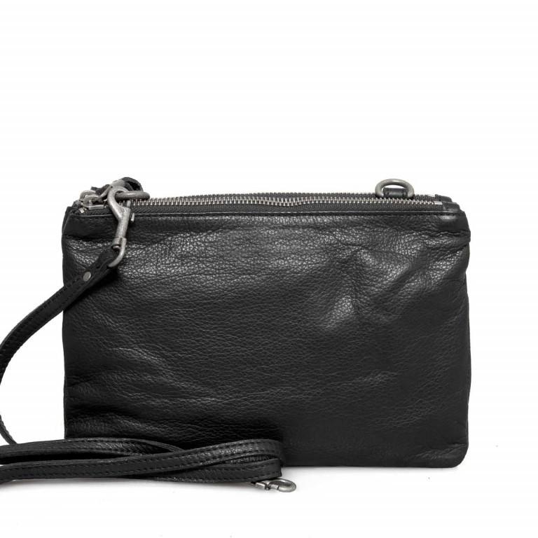 LIEBESKIND Vintage Karen 6 Kleine Tasche Black, Farbe: schwarz, Marke: Liebeskind Berlin, EAN: 4051436837667, Abmessungen in cm: 24.0x16.0x4.0, Bild 4 von 4