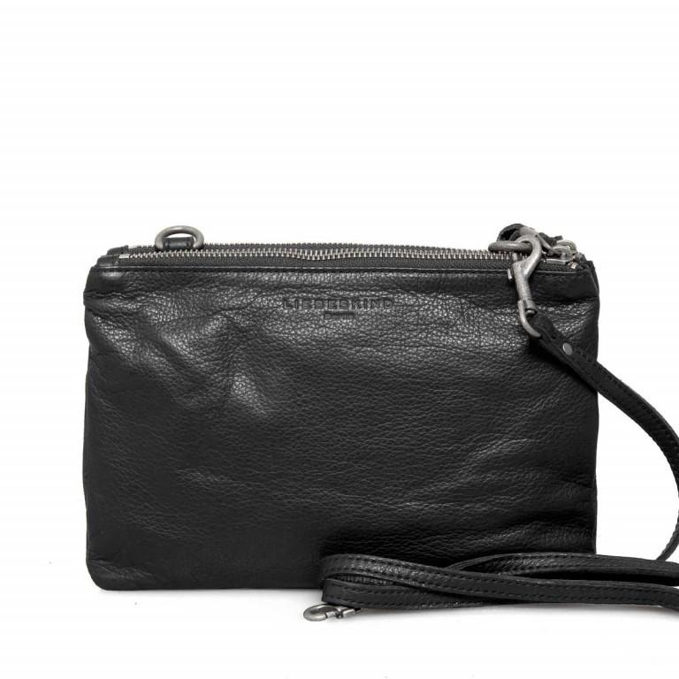 LIEBESKIND Vintage Karen 6 Kleine Tasche Black, Farbe: schwarz, Marke: Liebeskind Berlin, EAN: 4051436837667, Abmessungen in cm: 24.0x16.0x4.0, Bild 1 von 4