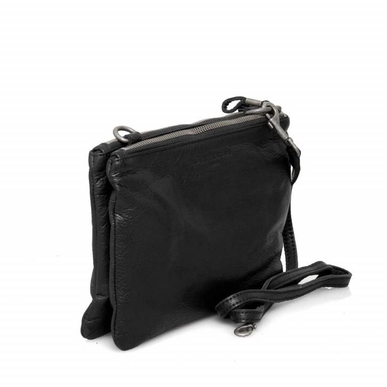 LIEBESKIND Vintage Karen 6 Kleine Tasche Black, Farbe: schwarz, Marke: Liebeskind Berlin, EAN: 4051436837667, Abmessungen in cm: 24.0x16.0x4.0, Bild 2 von 4