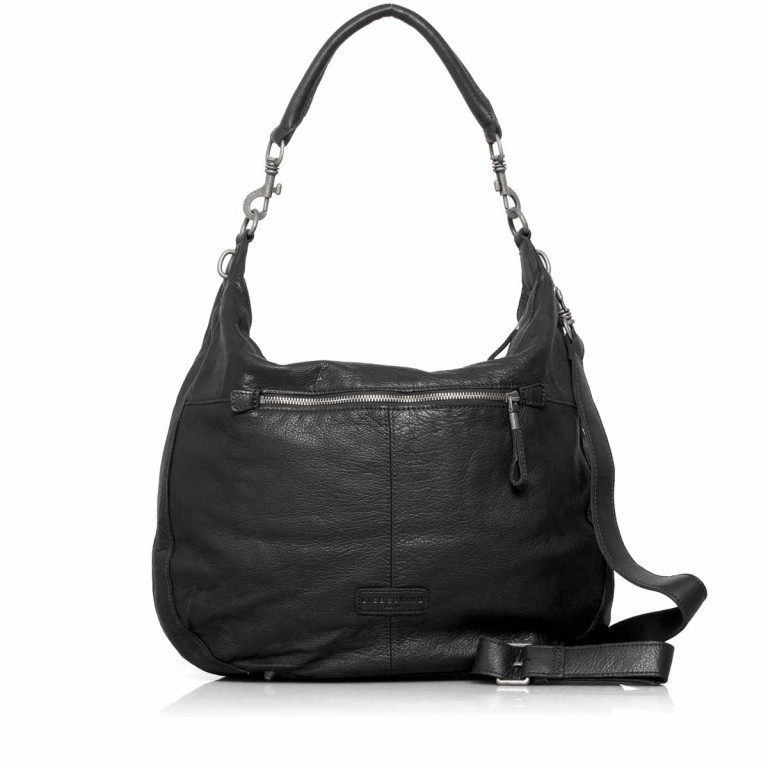 LIEBESKIND Vintage Pazia 6 Beutel Black, Farbe: schwarz, Marke: Liebeskind Berlin, EAN: 4051436837872, Abmessungen in cm: 40.0x35.0x8.5, Bild 4 von 4
