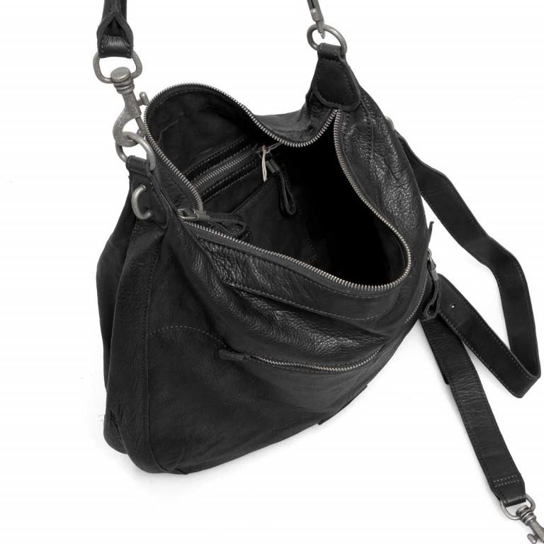 LIEBESKIND Vintage Pazia 6 Beutel Black, Farbe: schwarz, Marke: Liebeskind Berlin, EAN: 4051436837872, Abmessungen in cm: 40.0x35.0x8.5, Bild 2 von 4