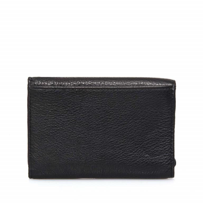 LIEBESKIND Vintage Alexandra 6 Börse Black, Farbe: schwarz, Marke: Liebeskind Berlin, EAN: 4051436837384, Abmessungen in cm: 14.0x10.0x3.5, Bild 3 von 4