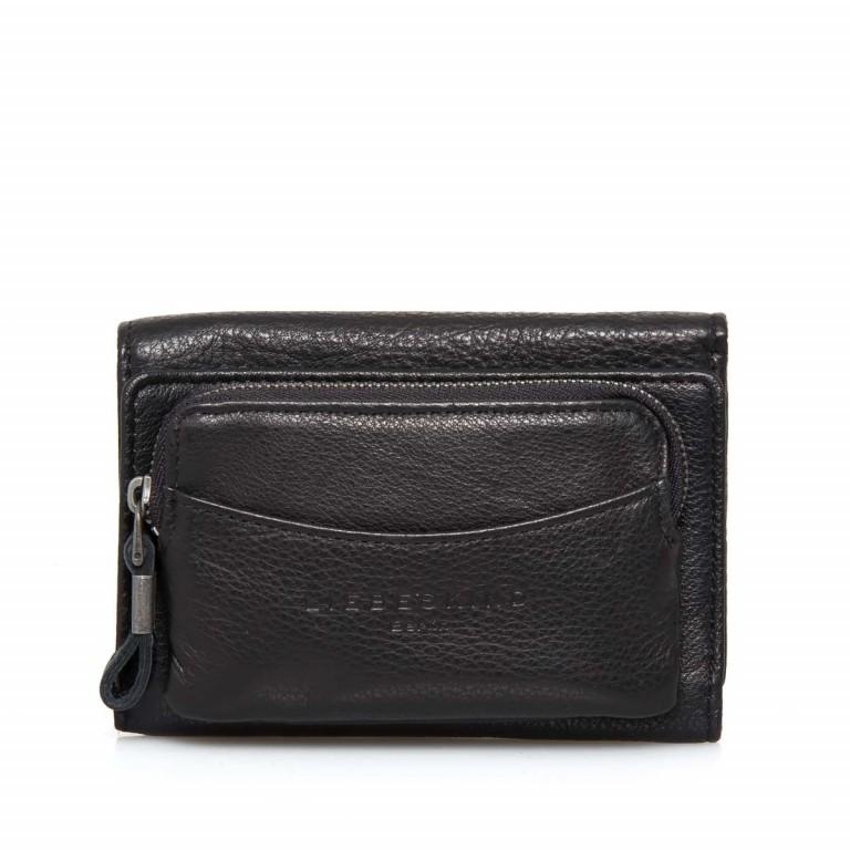 LIEBESKIND Vintage Alexandra 6 Börse Black, Farbe: schwarz, Marke: Liebeskind Berlin, EAN: 4051436837384, Abmessungen in cm: 14.0x10.0x3.5, Bild 2 von 4