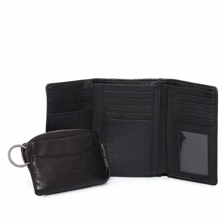 LIEBESKIND Vintage Alexandra 6 Börse Black, Farbe: schwarz, Marke: Liebeskind Berlin, EAN: 4051436837384, Abmessungen in cm: 14.0x10.0x3.5, Bild 1 von 4