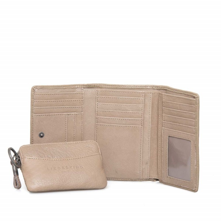 LIEBESKIND Vintage Alexandra 6 Börse Stone, Farbe: taupe/khaki, Manufacturer: Liebeskind Berlin, EAN: 4051436837407, Dimensions (cm): 14.0x10.0x3.5, Image 1 of 4