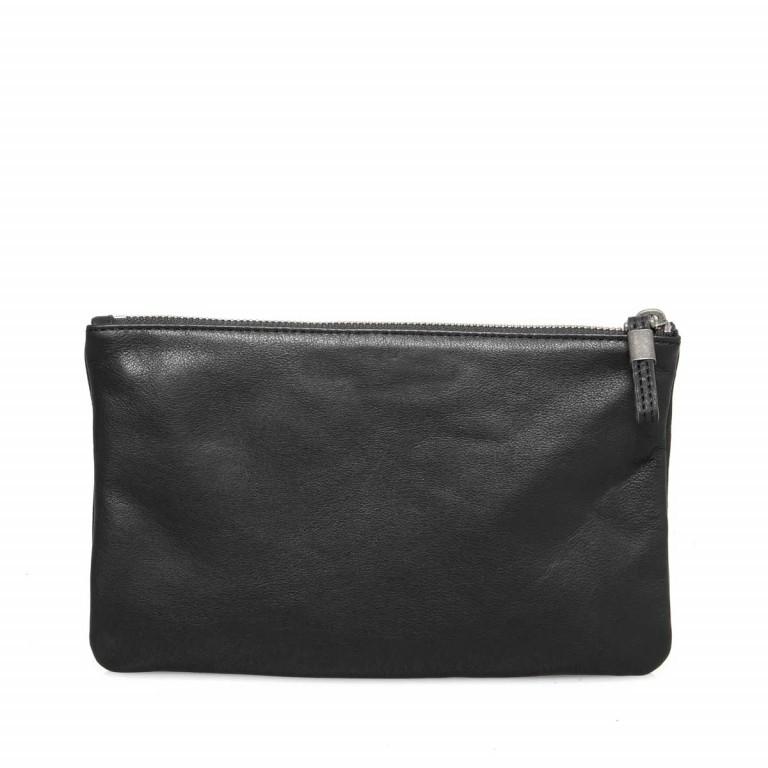 LIEBESKIND Vintage Jenny 6 Kosmetiktasche Clutch Black, Farbe: schwarz, Marke: Liebeskind Berlin, EAN: 4051436837605, Abmessungen in cm: 23.0x14.0x1.5, Bild 4 von 4