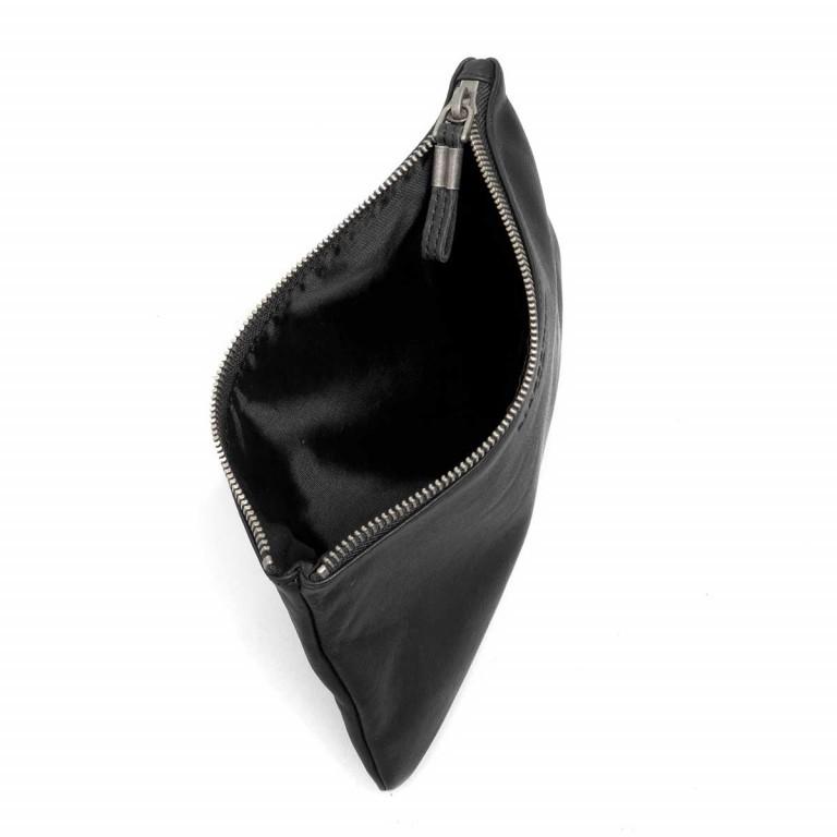 LIEBESKIND Vintage Jenny 6 Kosmetiktasche Clutch Black, Farbe: schwarz, Marke: Liebeskind Berlin, EAN: 4051436837605, Abmessungen in cm: 23.0x14.0x1.5, Bild 3 von 4
