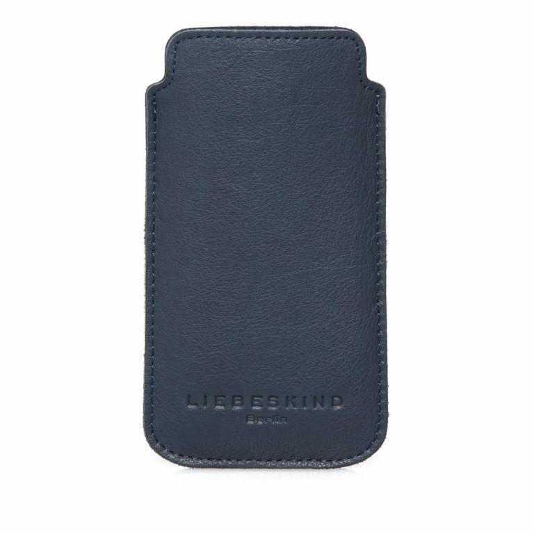 LIEBESKIND Vintage Iphone 6/7 Handyhülle Dark Blue, Farbe: blau/petrol, Marke: Liebeskind Berlin, EAN: 4051436837841, Abmessungen in cm: 14.5x7.8x0.5, Bild 1 von 1