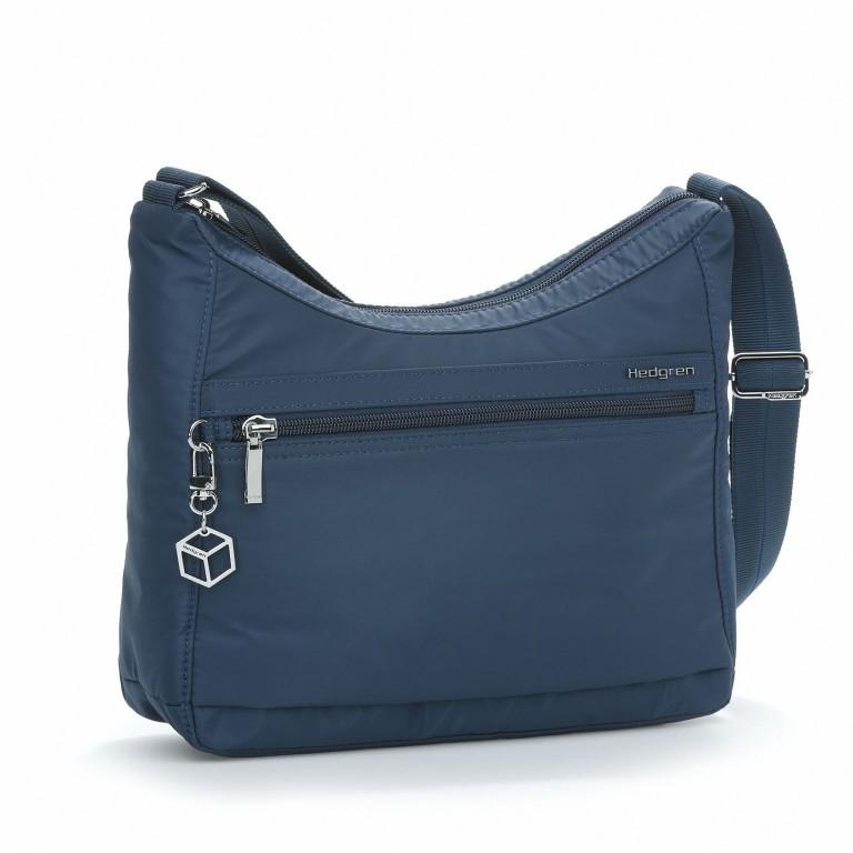 Hedgren Inner City Shoulder Bag Harper's S Dress-Blue, Farbe: blau/petrol, Marke: Hedgren, Abmessungen in cm: 29.0x24.0x8.5, Bild 1 von 3