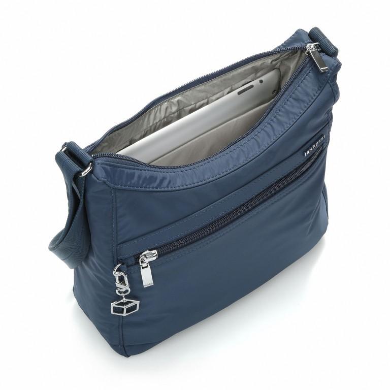 Hedgren Inner City Shoulder Bag Harper's S Dress-Blue, Farbe: blau/petrol, Marke: Hedgren, Abmessungen in cm: 29.0x24.0x8.5, Bild 2 von 3