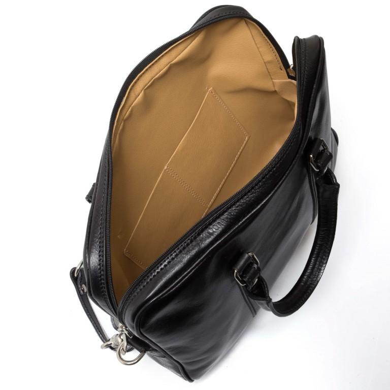 Assima Alessia Aktentasche 4540 Schwarz, Farbe: schwarz, Marke: Assima, Abmessungen in cm: 37.0x29.0x8.0, Bild 4 von 4