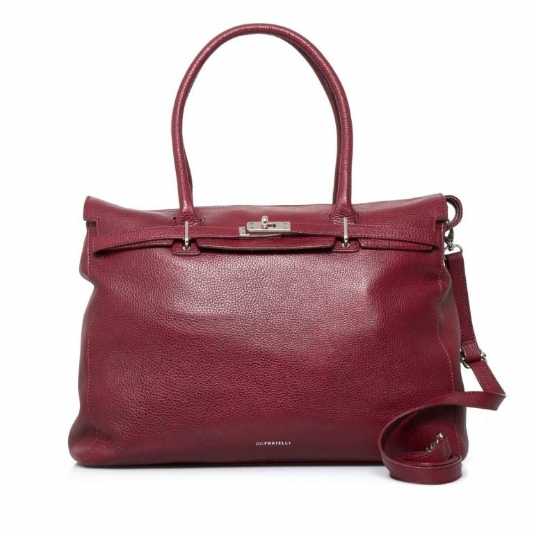 GiGi FRATELLI Romance 0038 Business Shopper Rubino, Farbe: rot/weinrot, Marke: Gigi Fratelli, Abmessungen in cm: 33.0x29.0x13.5, Bild 1 von 7