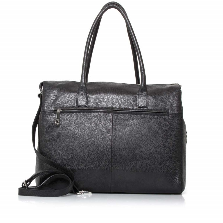 GiGi FRATELLI Romance 0038 Business Shopper Black, Farbe: schwarz, Marke: Gigi Fratelli, Abmessungen in cm: 39.0x29.0x13.5, Bild 3 von 6