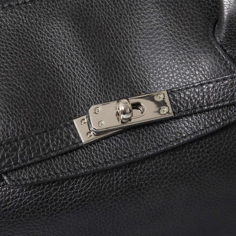 GiGi FRATELLI Romance 0038 Business Shopper Black, Farbe: schwarz, Marke: Gigi Fratelli, Abmessungen in cm: 39.0x29.0x13.5, Bild 5 von 6