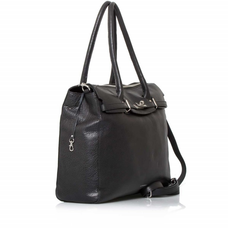GiGi FRATELLI Romance 0038 Business Shopper Black, Farbe: schwarz, Marke: Gigi Fratelli, Abmessungen in cm: 39.0x29.0x13.5, Bild 2 von 6