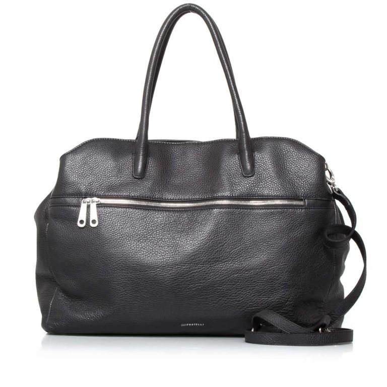 GiGi FRATELLI Romance 0056 Business Shopper, Farbe: schwarz, grau, Marke: Gigi Fratelli, Abmessungen in cm: 43.0x33.0x11.0, Bild 1 von 1