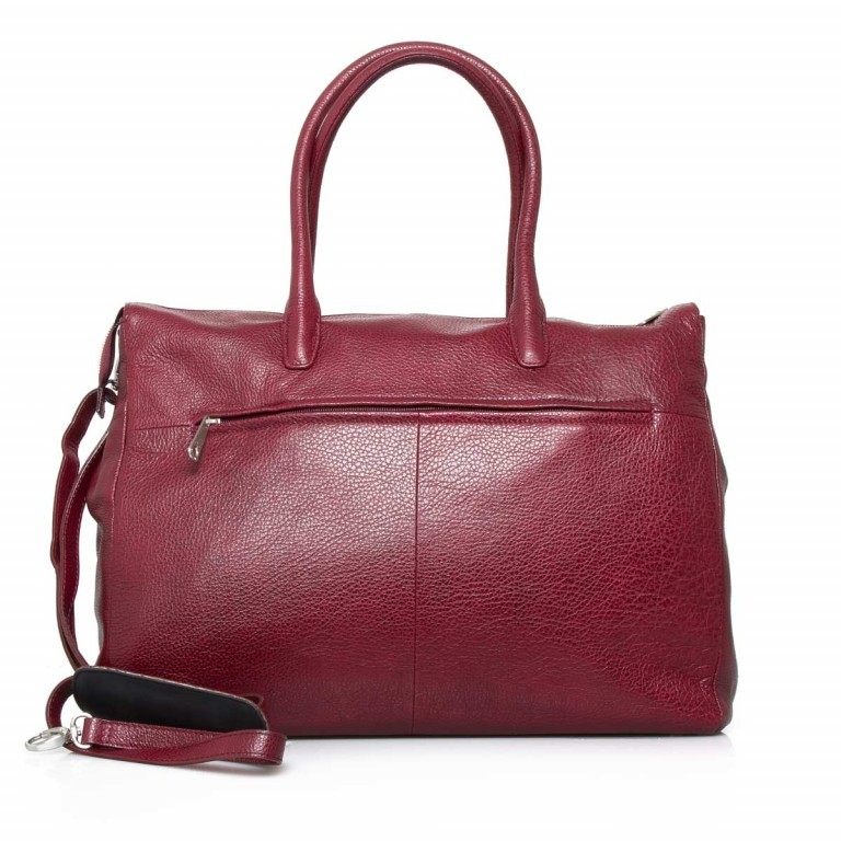 GiGi FRATELLI Romance 8007 Business Shopper Rubino, Farbe: rot/weinrot, Marke: Gigi Fratelli, Abmessungen in cm: 43.0x35.0x12.0, Bild 7 von 7