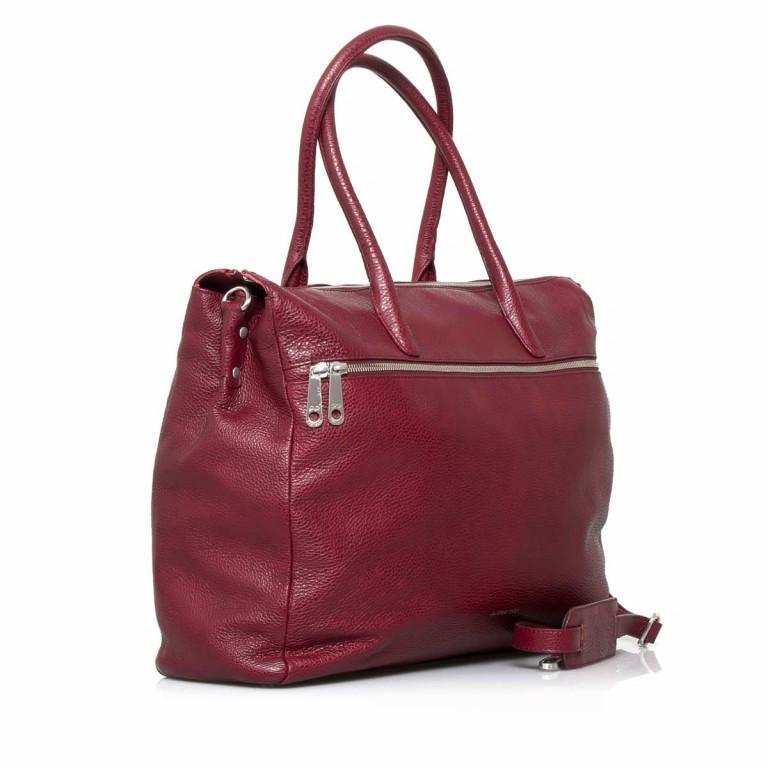 GiGi FRATELLI Romance 8007 Business Shopper Rubino, Farbe: rot/weinrot, Marke: Gigi Fratelli, Abmessungen in cm: 43.0x35.0x12.0, Bild 2 von 7