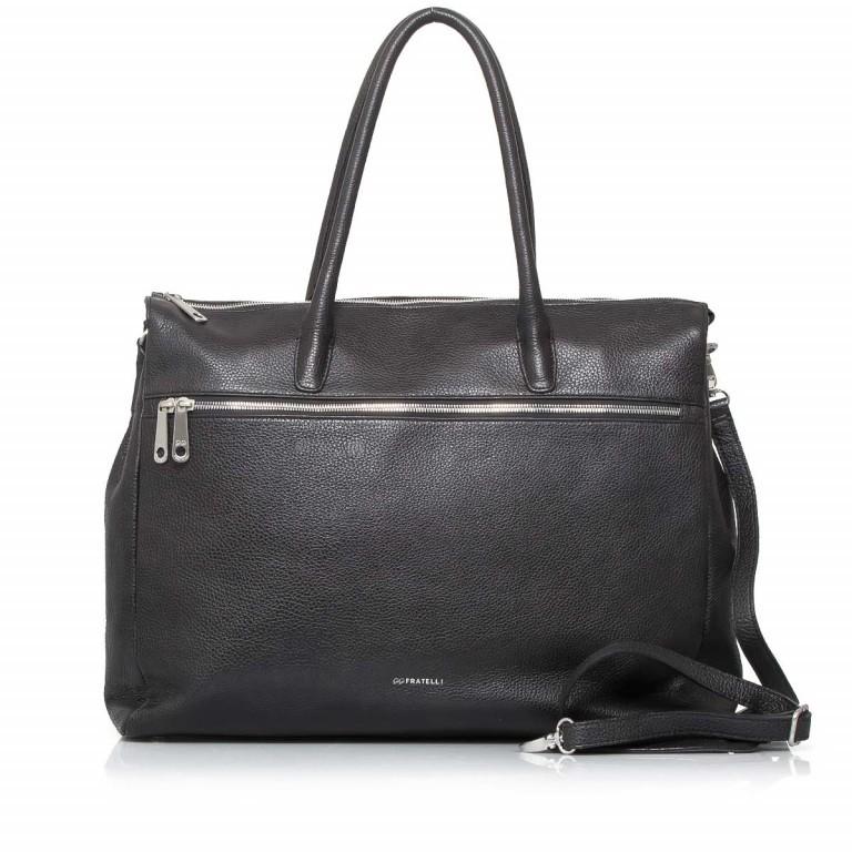 GiGi FRATELLI Romance 8007 Business Shopper Black, Farbe: schwarz, Marke: Gigi Fratelli, Abmessungen in cm: 43.0x35.0x12.0, Bild 1 von 7