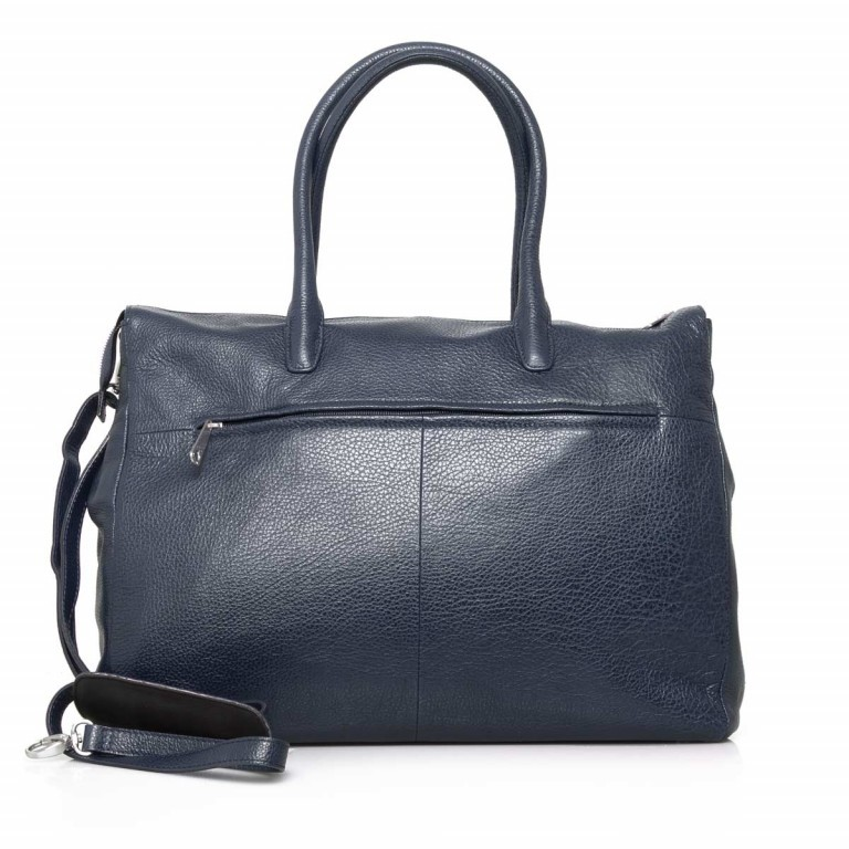 GiGi FRATELLI Romance 8007 Business Shopper Navy, Farbe: blau/petrol, Marke: Gigi Fratelli, Abmessungen in cm: 43.0x35.0x12.0, Bild 4 von 7