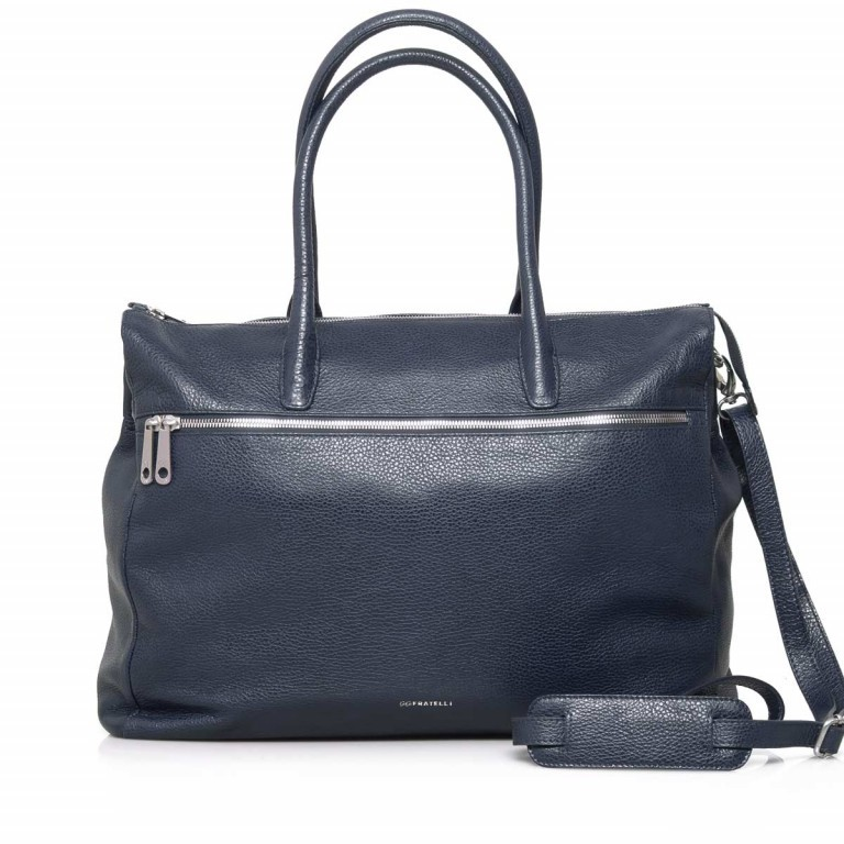 GiGi FRATELLI Romance 8007 Business Shopper Navy, Farbe: blau/petrol, Marke: Gigi Fratelli, Abmessungen in cm: 43.0x35.0x12.0, Bild 1 von 7