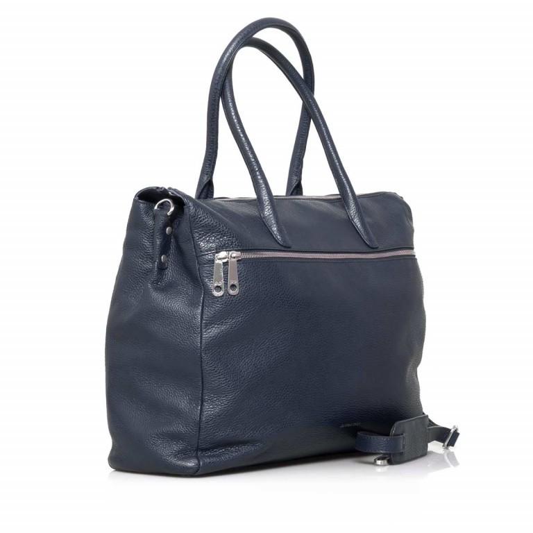 GiGi FRATELLI Romance 8007 Business Shopper Navy, Farbe: blau/petrol, Marke: Gigi Fratelli, Abmessungen in cm: 43.0x35.0x12.0, Bild 2 von 7