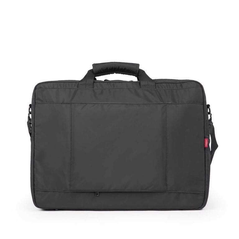 Hedgren Zepplin Reviewed Excess Laptoptasche Black, Farbe: schwarz, Marke: Hedgren, Abmessungen in cm: 48.0x35.0x11.0, Bild 2 von 3