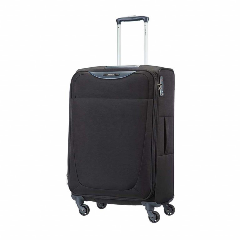Samsonite Base Hits 59144 Spinner 66 Expandable Black, Farbe: schwarz, Manufacturer: Samsonite, Image 1 of 6