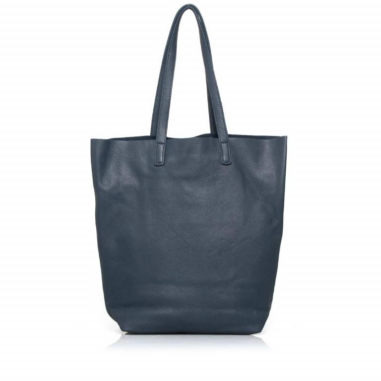 LIEBESKIND Vintage Viki Shopper Dark Blue, Farbe: blau/petrol, Marke: Liebeskind Berlin, Abmessungen in cm: 35.0x38.5x9.0, Bild 4 von 4