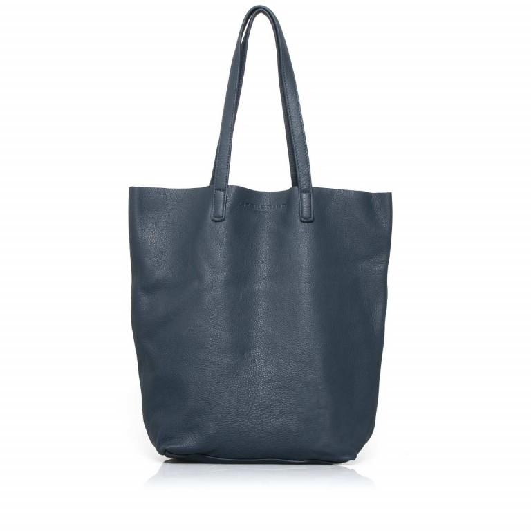 LIEBESKIND Vintage Viki Shopper Dark Blue, Farbe: blau/petrol, Marke: Liebeskind Berlin, Abmessungen in cm: 35.0x38.5x9.0, Bild 1 von 4