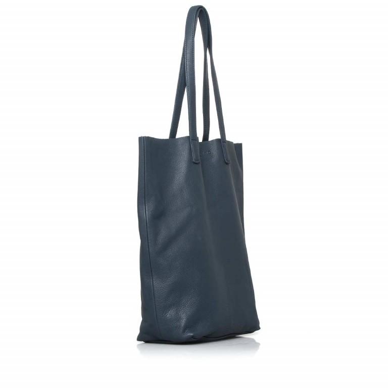 LIEBESKIND Vintage Viki Shopper Dark Blue, Farbe: blau/petrol, Marke: Liebeskind Berlin, Abmessungen in cm: 35.0x38.5x9.0, Bild 2 von 4