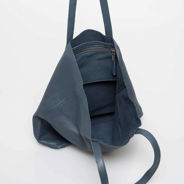 LIEBESKIND Vintage Viki Shopper Dark Blue, Farbe: blau/petrol, Manufacturer: Liebeskind Berlin, Dimensions (cm): 35.0x38.5x9.0, Image 3 of 4