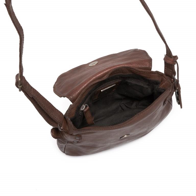 HARBOUR2nd Umhängetasche Chloe B3.5777 Brown, Farbe: braun, Marke: Harbour 2nd, Abmessungen in cm: 21.0x18.0x6.0, Bild 4 von 5
