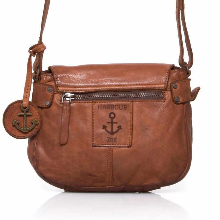 HARBOUR2nd Umhängetasche Chloe Cognac, Farbe: cognac, Marke: Harbour 2nd, Abmessungen in cm: 21.0x18.0x6.0, Bild 5 von 5