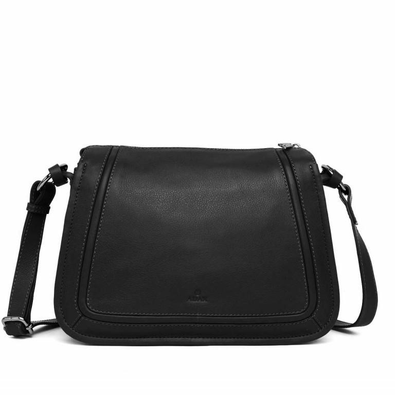 Adax Sorano 231894 Schultertasche Black, Farbe: schwarz, Marke: Adax, EAN: 5705483167107, Abmessungen in cm: 30.0x23.0x13.0, Bild 1 von 3