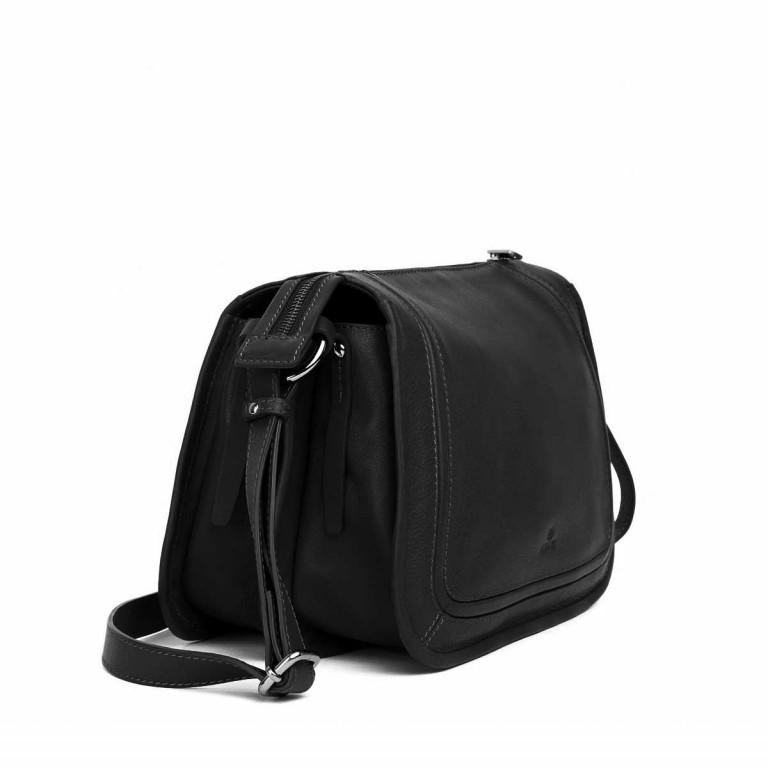 Adax Sorano 231894 Schultertasche Black, Farbe: schwarz, Marke: Adax, EAN: 5705483167107, Abmessungen in cm: 30.0x23.0x13.0, Bild 2 von 3