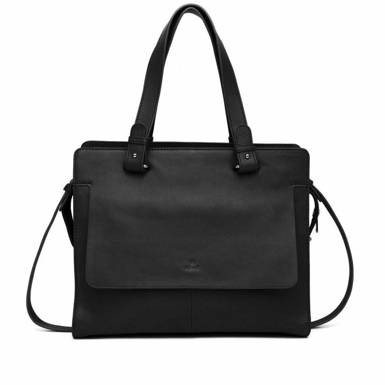 Adax Sorano 250394 Shopper Black, Farbe: schwarz, Marke: Adax, EAN: 5705483183862, Abmessungen in cm: 34.0x27.0x11.0, Bild 1 von 3