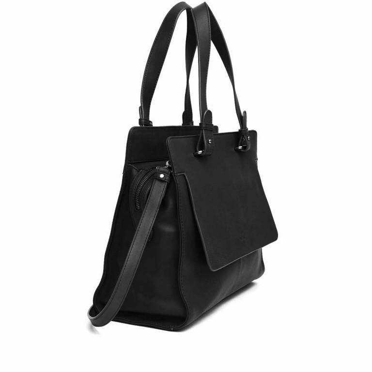 Adax Sorano 250394 Shopper Black, Farbe: schwarz, Marke: Adax, EAN: 5705483183862, Abmessungen in cm: 34.0x27.0x11.0, Bild 2 von 3