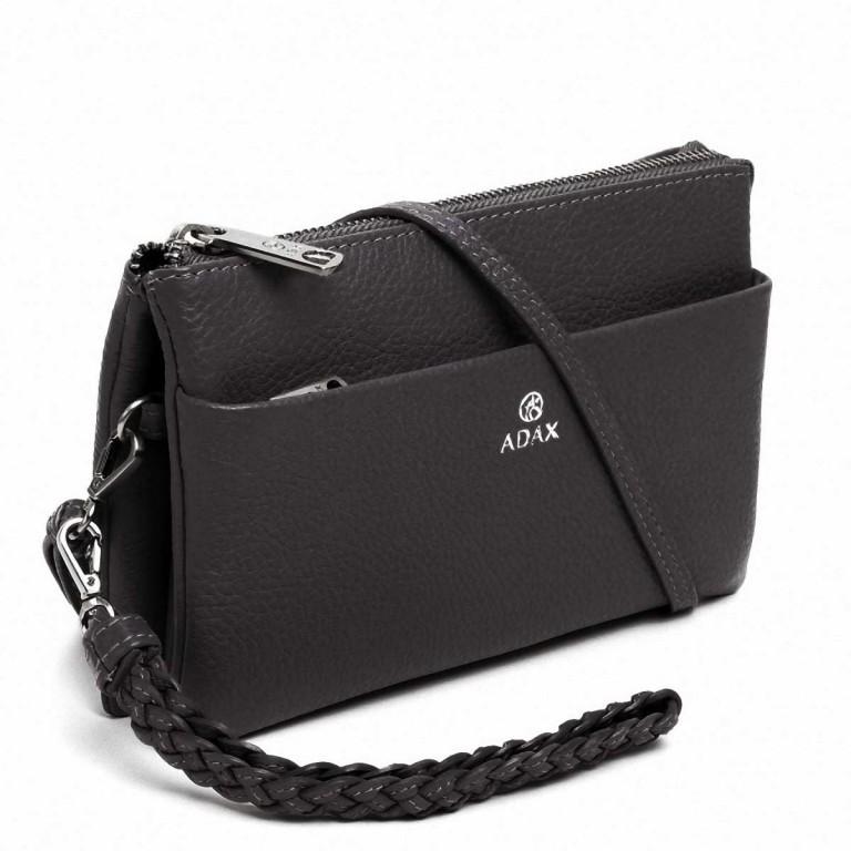 Adax Cormorano 227392 Combi Clutch Dark Grey, Farbe: grau, Marke: Adax, EAN: 5705483182094, Abmessungen in cm: 20.0x12.0x3.0, Bild 2 von 3