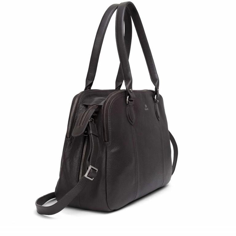 Adax Cormorano 231192 Business Bag Dark Grey, Farbe: grau, Marke: Adax, EAN: 5705483180540, Abmessungen in cm: 40.0x28.0x14.0, Bild 2 von 3