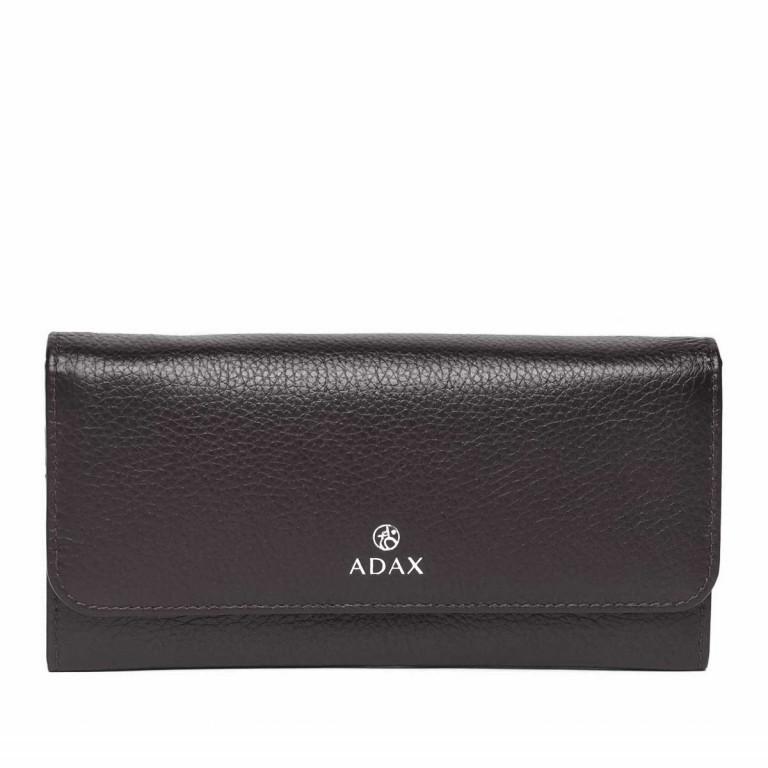 Adax Cormorano 447092 Große Börse Dark Grey, Farbe: grau, Marke: Adax, EAN: 5705483182971, Abmessungen in cm: 19.0x9.0x3.0, Bild 1 von 3