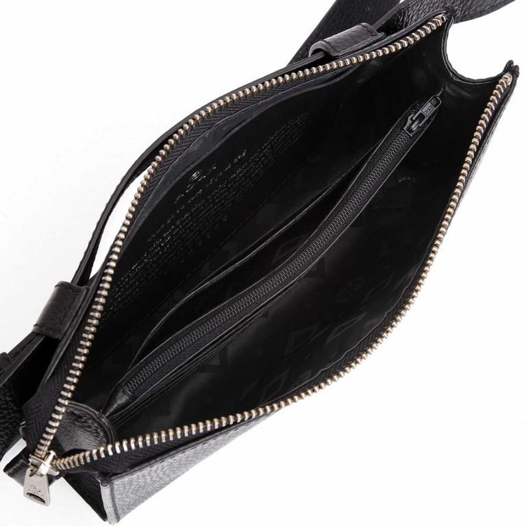 Adax Cormorano 249892 Clutch-Gürteltasche-Kombi Black, Farbe: schwarz, Marke: Adax, EAN: 5705483182919, Abmessungen in cm: 22.0x13.0x6.0, Bild 3 von 3