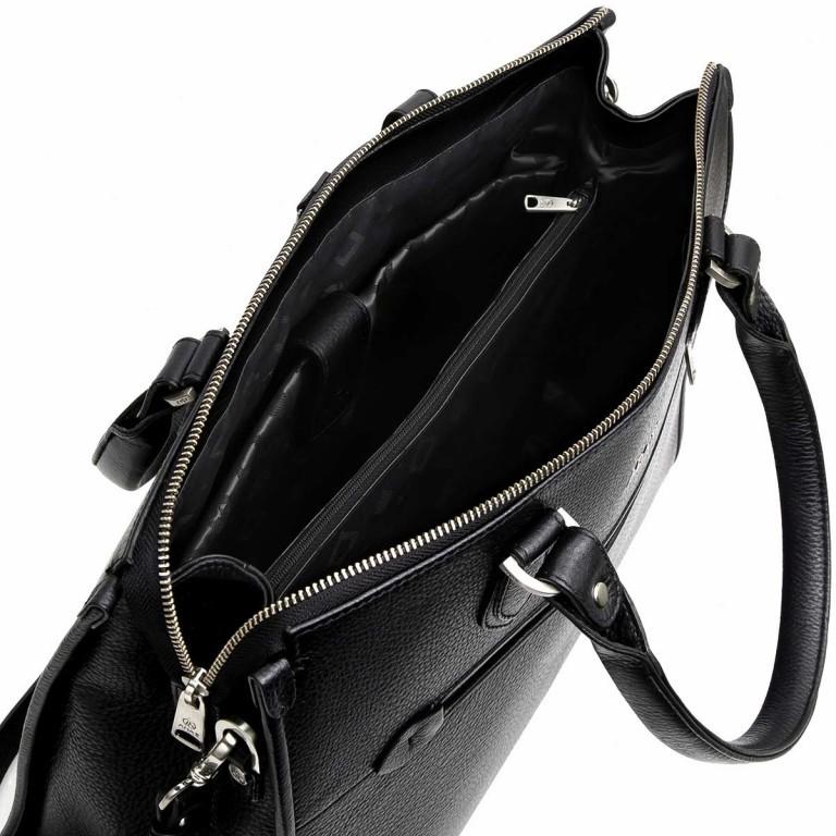Adax Cormorano 230592 Lykke Business Shopper Black, Farbe: schwarz, Marke: Adax, EAN: 5705483159065, Abmessungen in cm: 40.0x32.0x13.0, Bild 3 von 3
