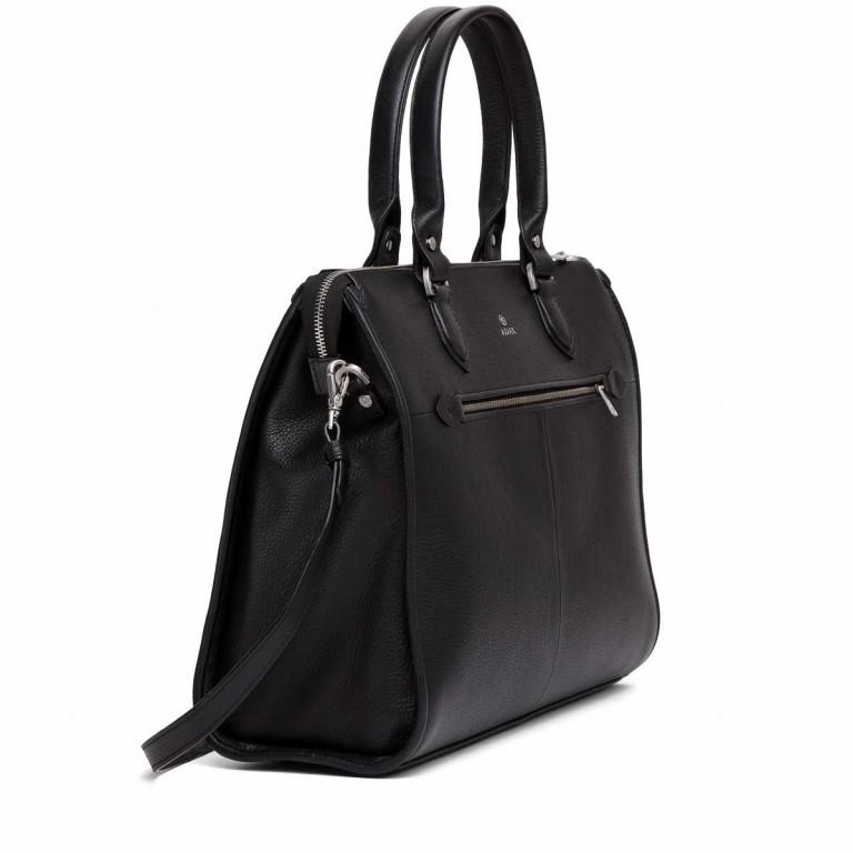 Adax Cormorano 230592 Lykke Business Shopper Black, Farbe: schwarz, Marke: Adax, EAN: 5705483159065, Abmessungen in cm: 40.0x32.0x13.0, Bild 2 von 3